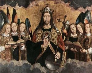 4. Ханс Мемлинг. Христос благословляющий. 1490
