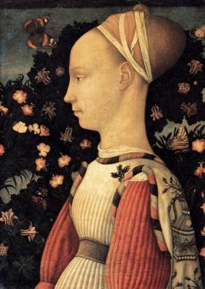 5. Пизанелло. Портрет принцессы из дома Эсте. 1436—1438