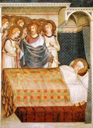 2. Симоне Мартини. Сон святого Мартина. 1312-1317