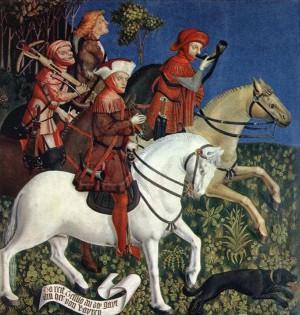 3. Неизвестный мастер. Выезд на охоту принца Тассило. 1444