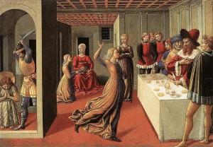 3. Беноцо. Гоццоле Танец Саломеи. 1461- 1462