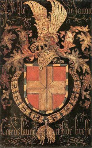 3. Питер Коустенс. Герб Филиппа Савойского. 1478