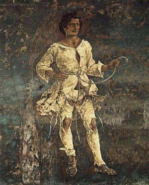 5. Франческо дель Косса. Аллегория марта: Триумф Минервы (деталь) 1476-1484