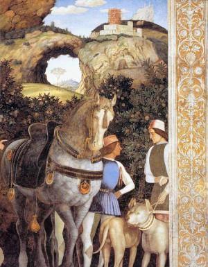 3. Андреа Мантенья. Встреча с кардиналом Франческо Гонзага. 1471-1474