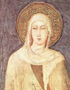 5. Симоне Мартини. Св. Маргарита. 1318