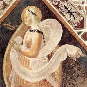 6. Паоло Уччело (предположительно). Вера. 1435
