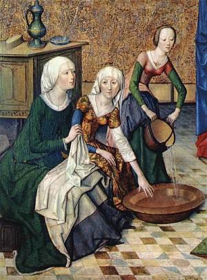 1. Мастер жития Марии. Рождество Богородицы. ок. 1470