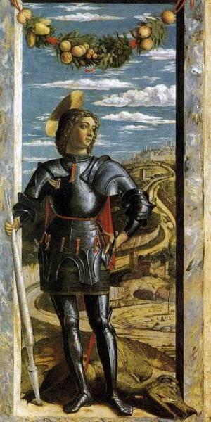 2. Андреа Мантенья. Святой Георгий ок. 1460