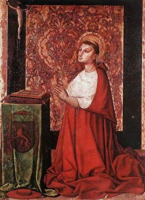 4. Мастер Авиньонской школы.  Видение Петра Люксембургского.  ок. 1450