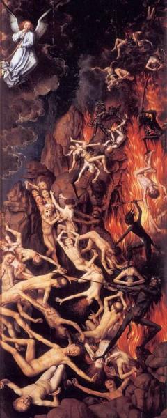 1. Ханс Мемлинг. Страшный суд (деталь) ок. 1467– 1471
