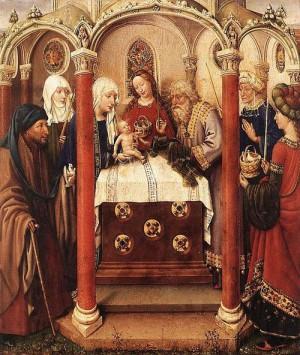 5. Жак Даре. Алтарь Девы. 1433 – 1435