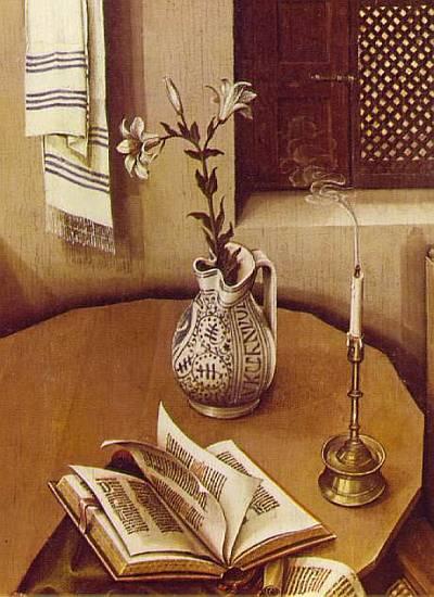 6.Робер Кампен. Алтарь Мероде (деталь). ок. 1427