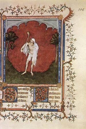 3. Жакемар де Эсден. Псалтирь герцога Беррийского. около 1390