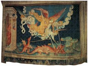 8. Неизвестный французский мастер. Анжерский апокалипсис. Гобелен. 1380