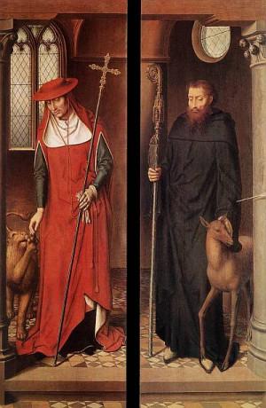 1. Ханс Мемлинг. Алтарь Страстей (Триптих Гревераде). 1491