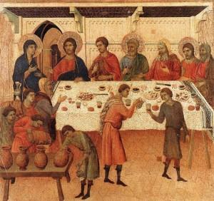 2. Дуччо ди Буонинсенья. Брак в Кане Галилейской 1308-1311