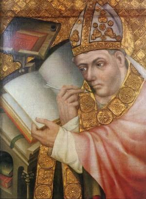 4. Мастер Теодорих. Портрет святого. 1360-1365