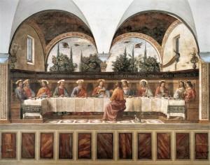6. Доменико Гирландайо. Тайная Вечеря. 1480