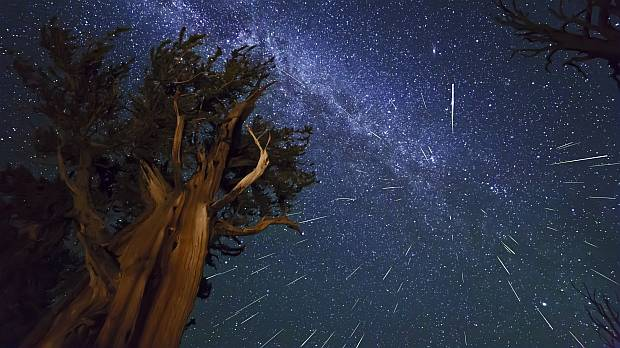 Perseids meteor shower 2013