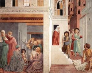 6. Беноццо Гоццоли. Сцены из жизни св. Франциска. 1452