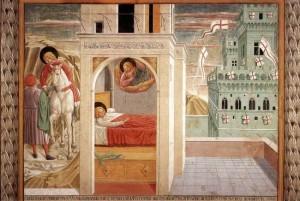 7. Беноццо Гоццоли. Сцены из жизни св. Франциска. 1452