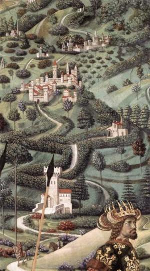 8. Беноццо Гоццоли. Процессия Среднего короля. 1459 -1460