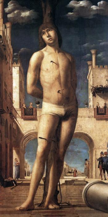 1. Антонелло да Мессина. Св. Себастьян. 1476–1477