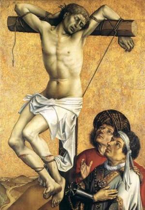 2. Робер Кампен. Злой разбойник на кресте. 1410