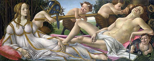 Erosphere 2016 _ Sandro Botticelli. Venus and Mars 1483