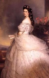 Franz Xaver Winterhalter. Kaiserin Elisabeth von  Osterreich