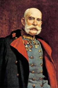 Leopold Stephan Horovitz. Portrait of Kaiser Franz Joseph