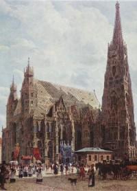 Rudolf von Alt. Stephansdom