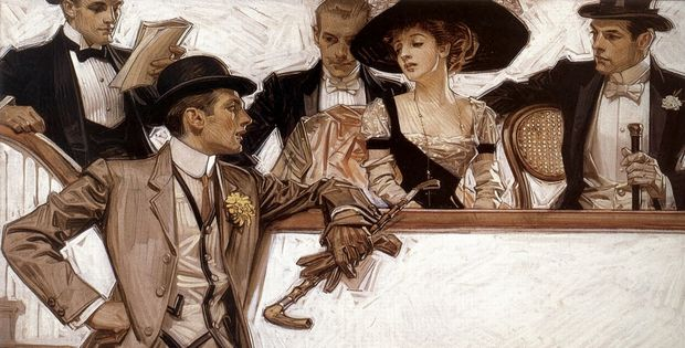 Illustration by J.C. Leyendecker