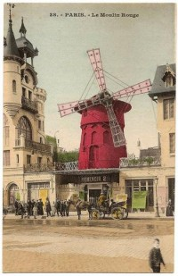 Париж. Мулен Руж