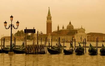 Венеция. Кампанила собора Святого Марка