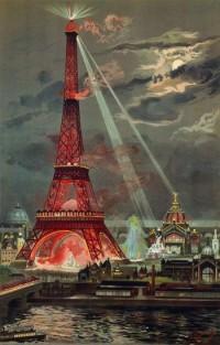 Жорж Гарен. Освещение башни Эйфеля