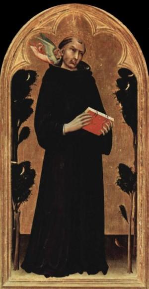 Мартини Симоне. Блаженный Св. Августин Новелло. 1324