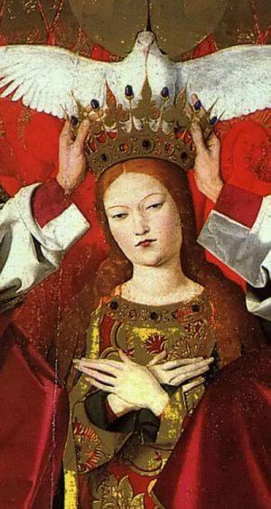 1. Ангерран Шаронтон. Коронация Марии. 1453-1454