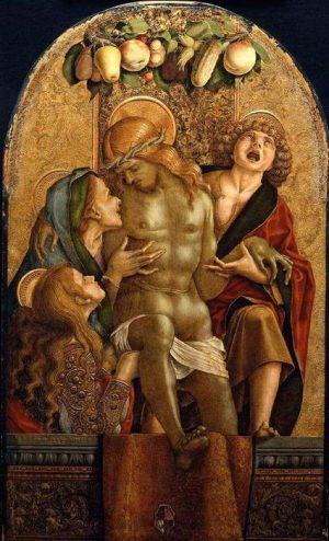 1. Карло Кривелли. Пьета. 1485