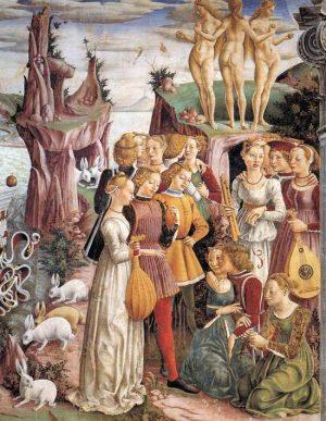 2. Франческо дель Косса. Триумф Венеры. 1476- 1484