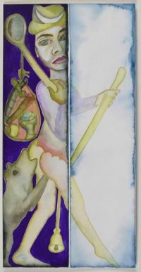 Francesco Clemente. The Fool
