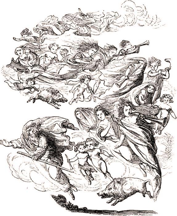 Frau Holle. 1873