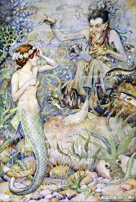"Monro Scott Orr ""Little Mermaid"""
