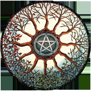 Пентакль Самайна. Расклад. Samhain. ПРОМО