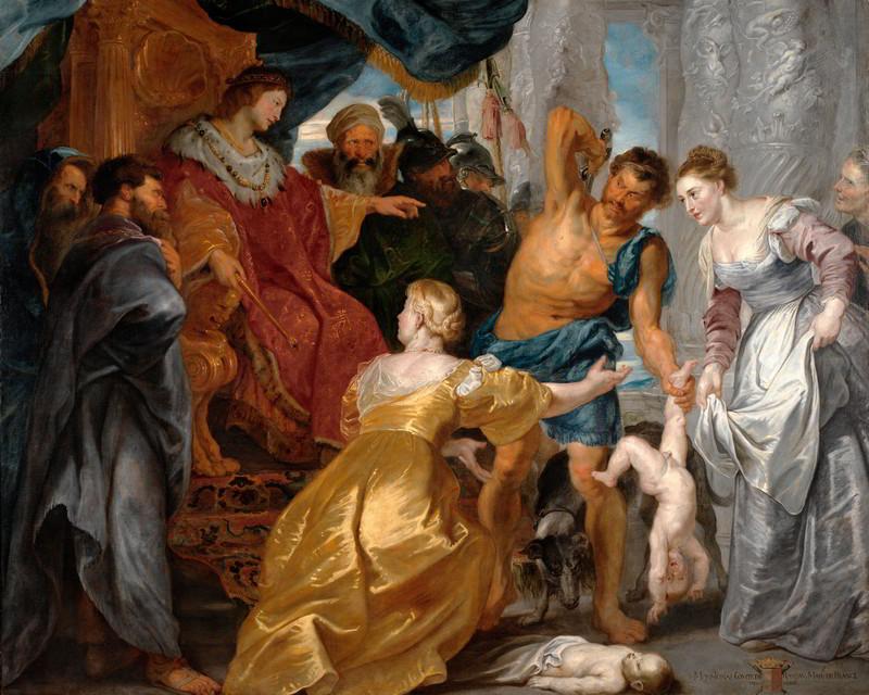 Рубенс, Питер Пауль (1577-1640) Суд Соломона