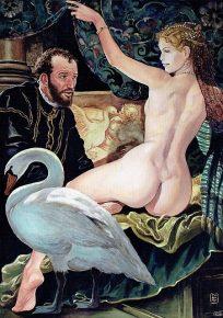 Milo Manara Il pittore e la modella - Paolo Veronese. 1528 - 1588