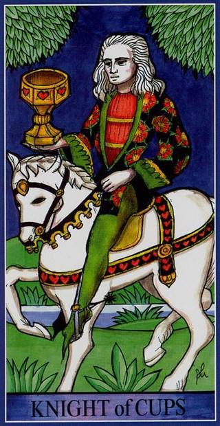 Dame Fortune's Wheel Tarot. Рыцарь Кубков. Вектор недели 18.05-24.05.2020