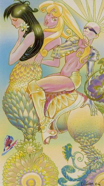 Tarot of Metamorphosis. VII Колесница. Метаморфозы убывающей Луны, ноябрь