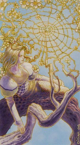 Tarot of Metamorphosis. Четверка Кубков. Метаморфозы убывающей Луны, декабрь