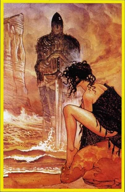 IV Император. Жребий недели. Erotic Tarot of Manara